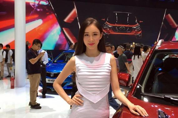 美胸,翘臀,广州车展美女车模大PK