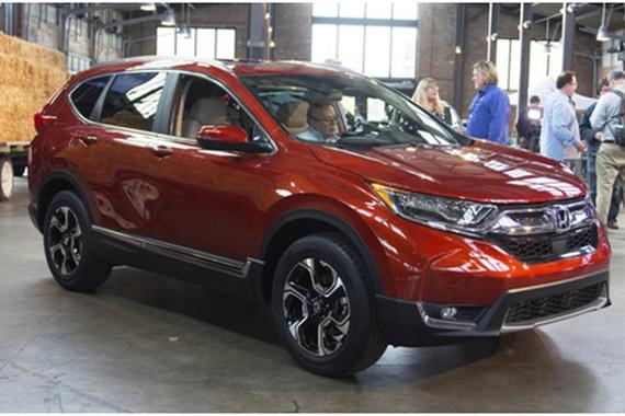 2017款本田CR-V美国开始生产 即将上市