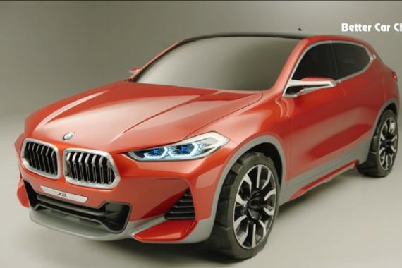 颜值爆表 2017宝马X2 SUV