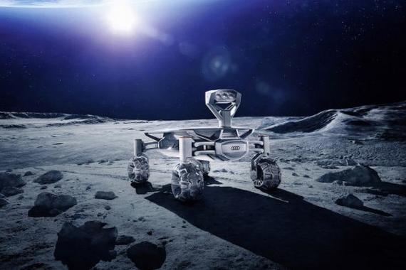 我们的征途是星辰大海 奥迪2017年登月