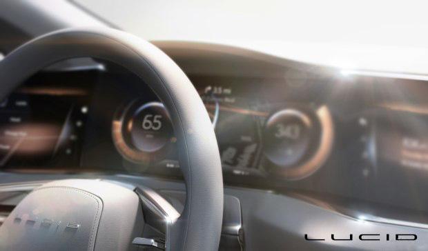 Lucid Vision概念车预告图