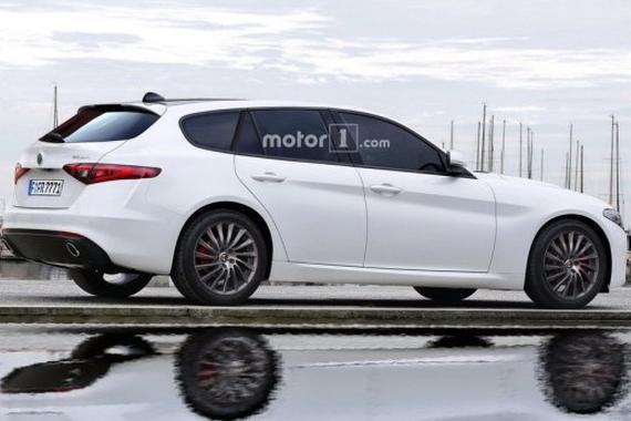 或明年9月发布 Giulia旅行车效果图