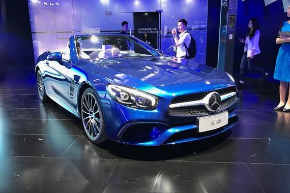 售109.80万元 奔驰新款SL 400正式上市