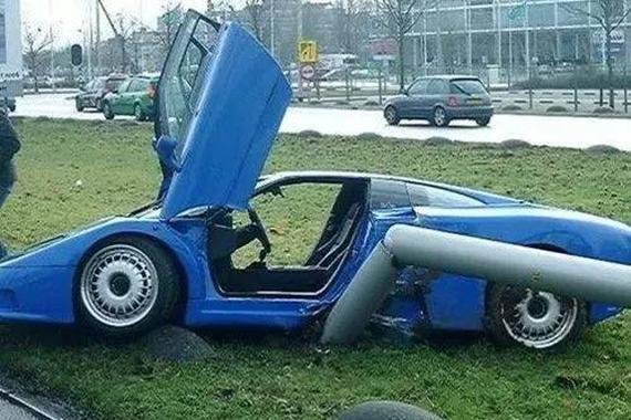 世界上最贵的车祸 分分钟损失几十亿