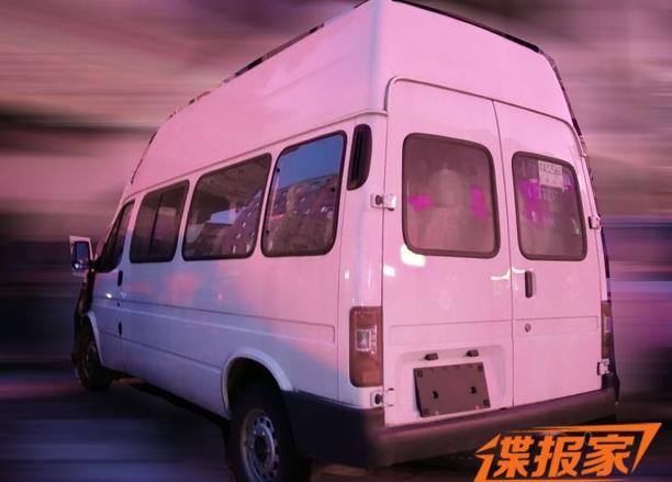 替代经典全顺 曝江铃特顺车型最新谍照