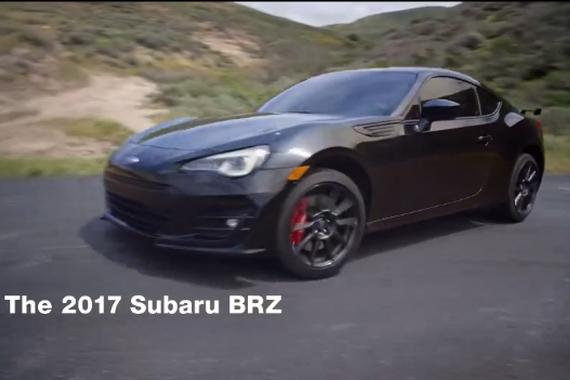 视频:刺激 2017斯巴鲁BRZ赛道驾驶模式
