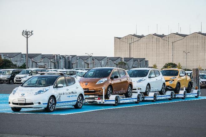 日产汽车引进无人驾驶拖车系统
