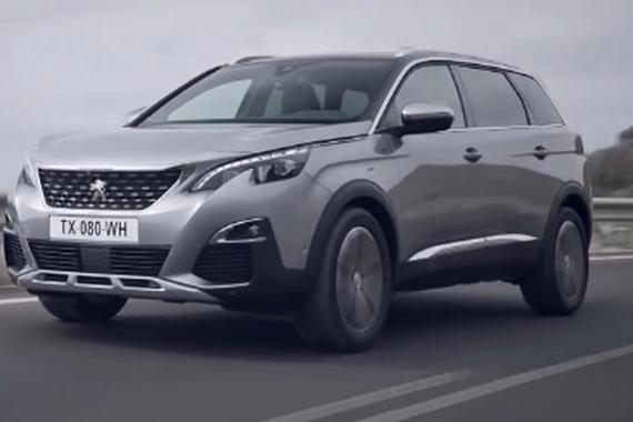 视频:全新一代标致5008 中型7座SUV