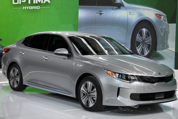 K5插电式混动版2017年将国产 或205马力