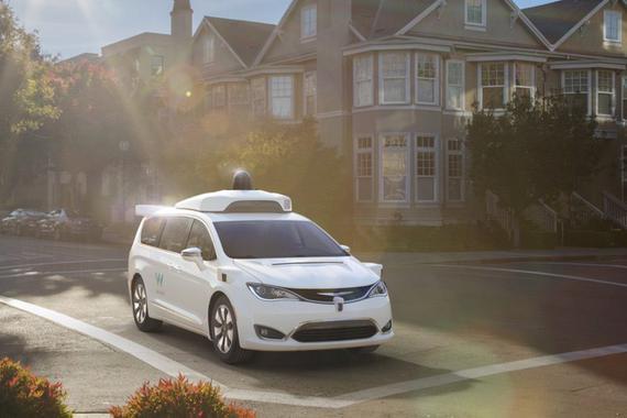 谷歌与菲亚特明年发布自动驾驶小型货车