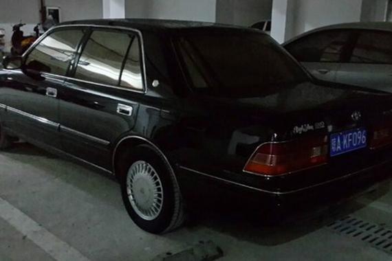 儿时的回忆 经典老车<em>丰田</em>皇冠155 <em>VVTI</em>