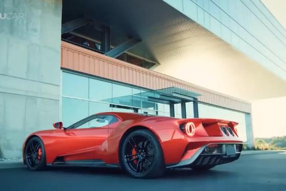 视频:超级跑车 2017全新福特GT