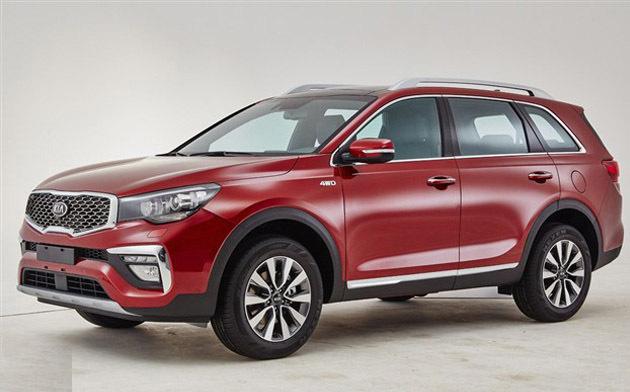 起亚全新旗舰SUV官图发布 明年一季度上市