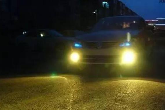 汽车后雾灯为什么有的有一个 有的有两个