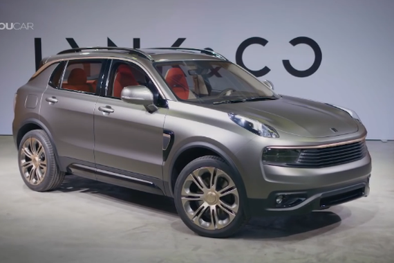 视频:欧美范儿 LYNK&CO全新SUV概念车