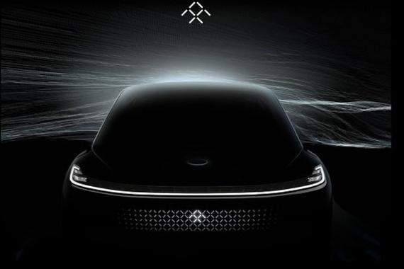 Faraday Future首款量产车 2017CES展发布