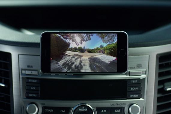 苹果前员工推出RearVision汽车智能后视系统