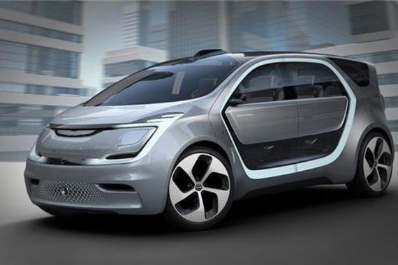 克莱斯勒portal概念车亮相CES
