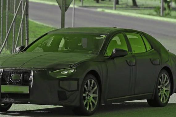视频:全新一代雷克萨斯LS测试谍照