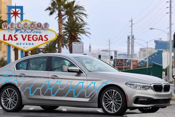 视频:宝马新5系自动驾驶原型车发布