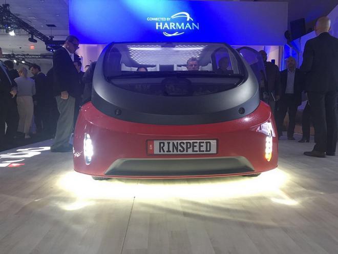 2017 CES:Rinspeed Oasis概念车发布