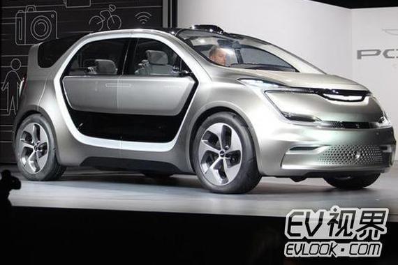 炫酷对开侧滑门 克莱斯勒Portal概念车发布