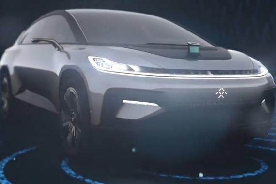 """视频:乐视汽车FF91 号称""""新物种"""""""