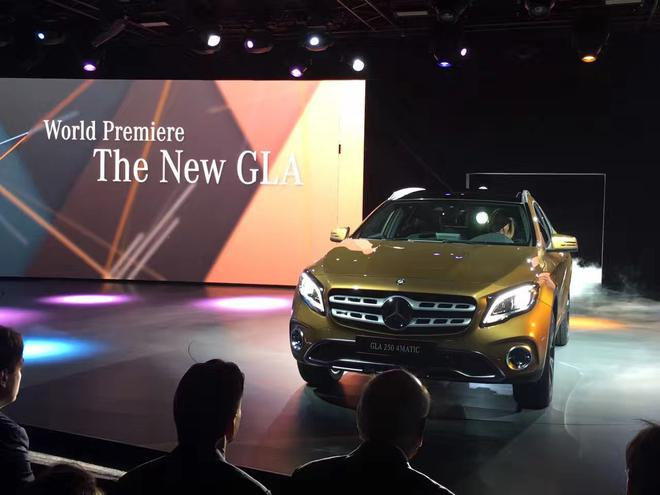 2017北美车展:奔驰新款GLA正式发布
