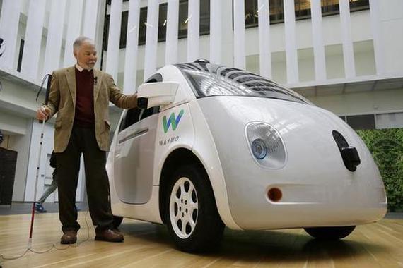 谷歌无人车传感器成本大降90% 大规模普及尚早