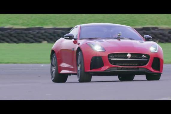 视频:捷豹改款F-Type发布 与GoPro合作
