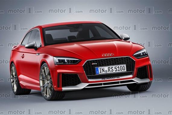 奥迪新RS 4 Avant/RS 5 Coupe效果图发布