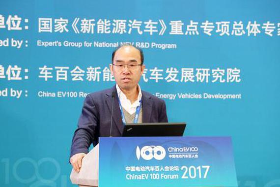 徐长明:新能源汽车驱动力需转向市场