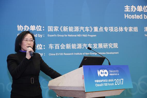 许艳华:我国去年每月新增8000根充电桩