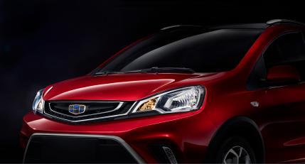 或二季度上市 吉利小型SUV V01官图发布