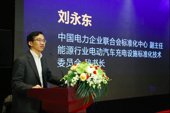 中国电力企业联合会标准化中心副主任 刘永东