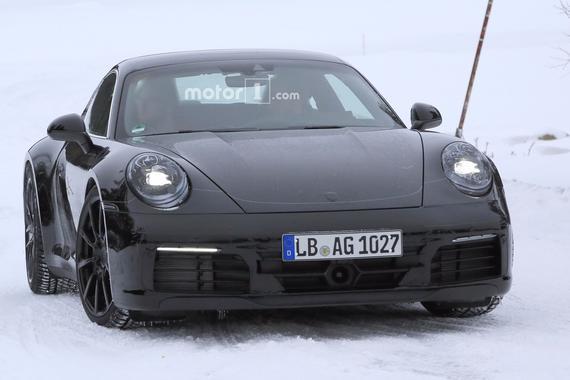 新一代保时捷911轴距或加长 明年上市