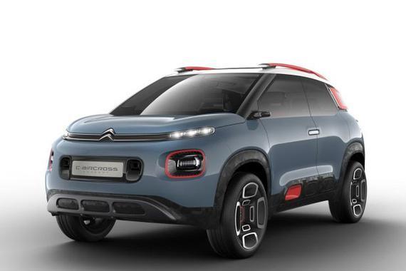 新小型SUV雏形 雪铁龙C-Aircross官图