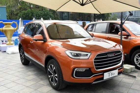 定位中型SUV 野马T80将于上海车展上市