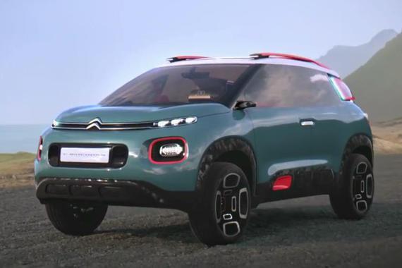 视频:新小型SUV雏形 雪铁龙C-Aircross