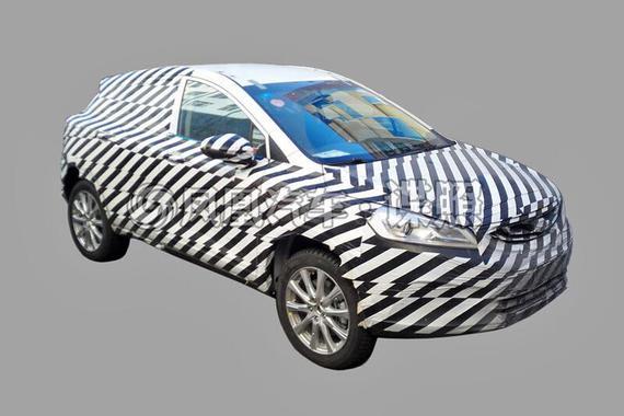 帝豪GS插电混动版曝光 有望年内推出
