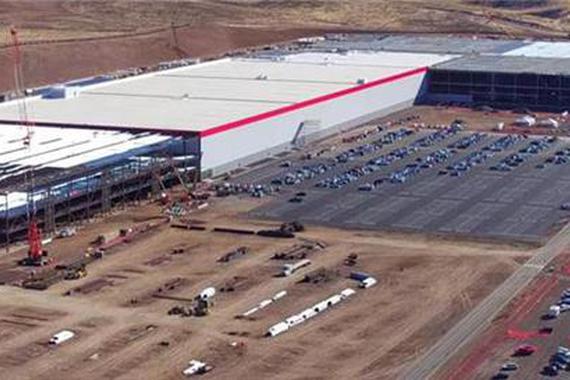 特斯拉超级工厂施工成本逾10亿美元