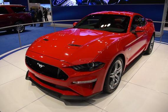 视频:2017芝加哥:新款Mustang GT首发