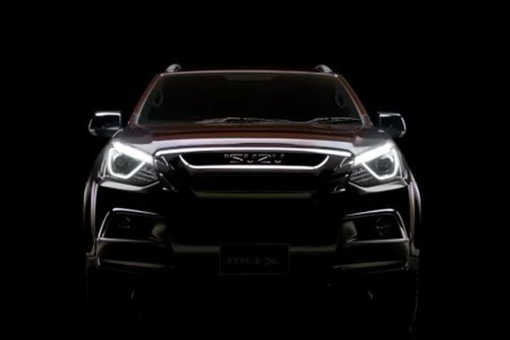 预计3月推出 五十铃新款mu-X造型曝光