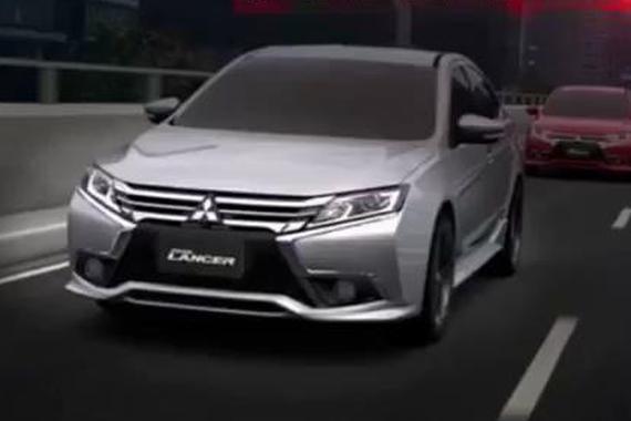 视频:自主研发 中华三菱Grand Lancer