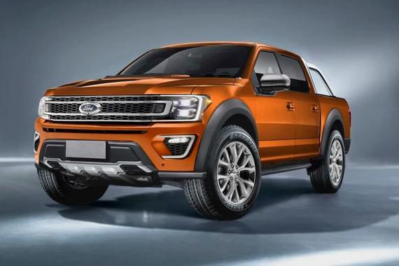 视频:福特新Ranger假想图发布