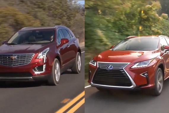 视频:SUV之战 雷克萨斯RX对凯迪拉克XT