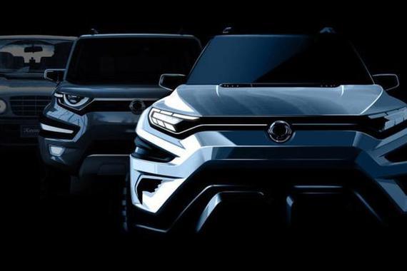日内瓦车展亮相 双龙XAVL概念车预告图