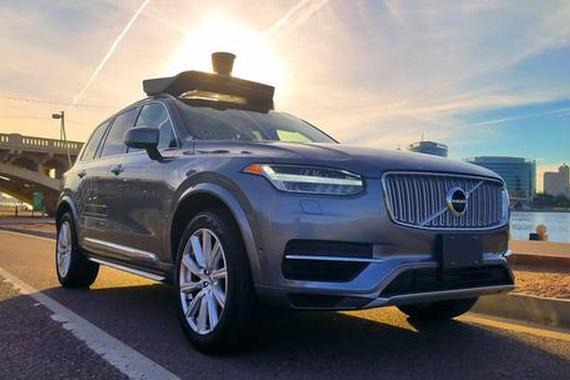 Uber在美正式开通自动驾驶打车服务