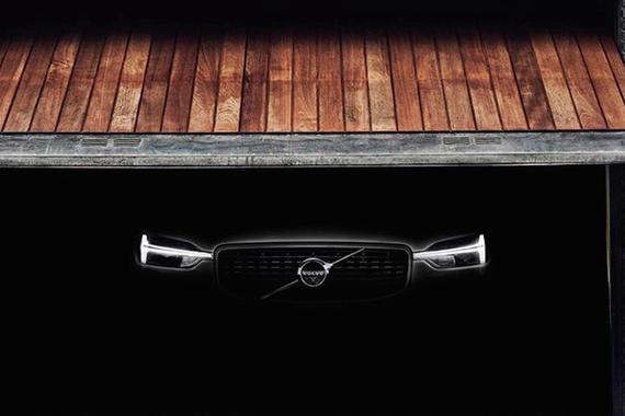日内瓦车展首发 全新沃尔沃XC60预告图