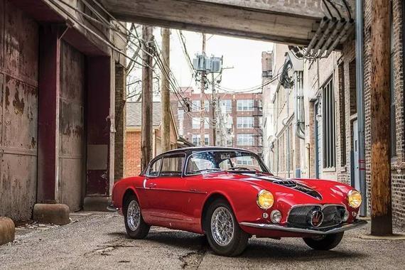 1956 Ma<em>se</em>rati A6G/54 Coupe <em>Se</em>ries Ⅲ